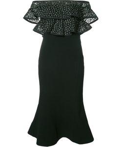 Rebecca Vallance | Farina Flare Midi Dress Size 8
