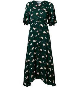 Derek Lam 10 Crosby | Abstract Print V-Neck Dress Size 0