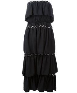 Sonia Rykiel | Strapless Laye Dress 36 Cupro