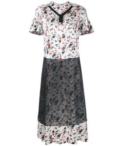 Toga Pulla | Printed Shortsleeved Dress Size