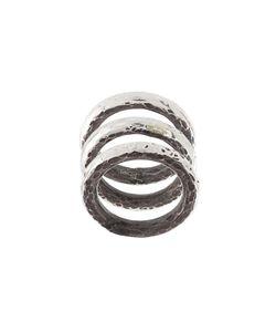 HENSON | Carved Stacker Rings Unisex