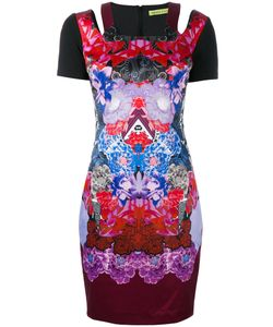 Versace Jeans | Printed Fitted Dress