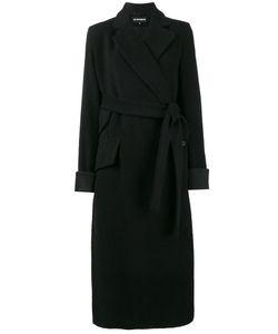 Ann Demeulemeester   Асимметричное Пальто С Поясом Mulligan