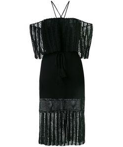 HARARE   Вязаное Платье С Открытыми Плечами