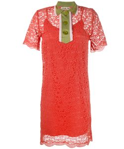 Jour/Né | Colla Lace Mini Dress 36 Polyamide/Cotton