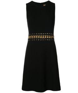 Michael Kors | Расклешенное Платье С Цепочкой На Талии