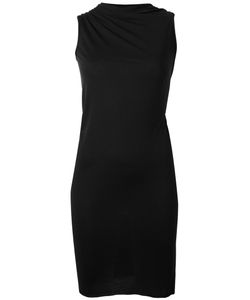 Rick Owens Lilies | Twisted Neck Fitted Dress 40