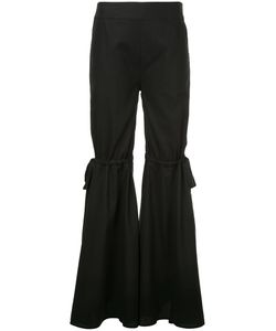 Teija | Bow Detail Flared Trousers Women