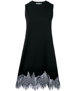 Mcq Alexander Mcqueen | Lace Hem Dress Medium Cotton/Polyamide