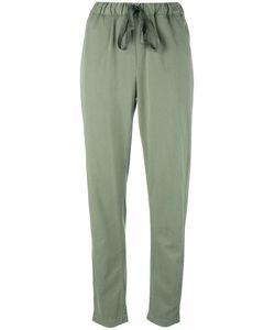 Erika Cavallini | Tape Drawstring Fastening Trousers 40 Cotton/Lyocell