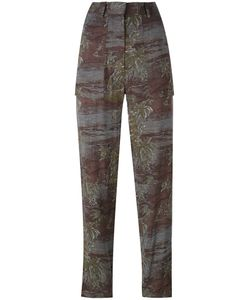 Vanessa Bruno Athe'   Vanessa Bruno Athé Printed Trousers Size 38