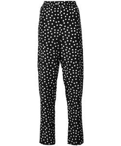Dolce & Gabbana | Polka Dot Trousers 38 Silk/Cotton