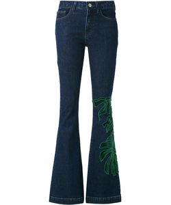 MARTHA MEDEIROS | Patch Flared Jeans