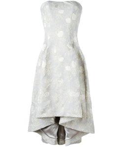 Carine Gilson | Bustier Jacquard Dress Size Large