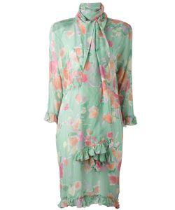 Christian Dior Vintage | Платье С Цветочным Принтом