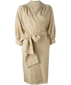 Christian Dior Vintage | Платье В Горох С Поясом