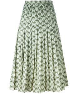 Christian Dior Vintage   Юбка С Принтом