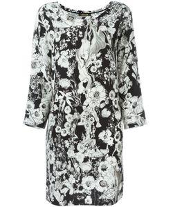 Roberto Cavalli | Платье С Цветочным Принтом