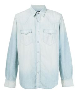 RRL | Выбеленная Джинсовая Рубашка