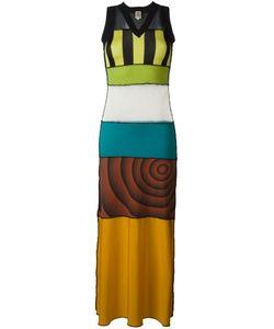 JEAN PAUL GAULTIER VINTAGE | Длинное Платье С Панельным Дизайном