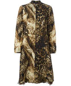 Kenzo | Платье С Леопардовым Принтом