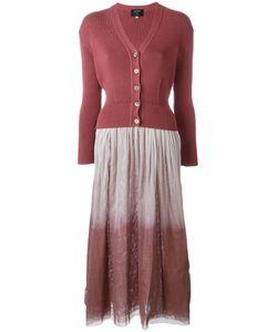 JEAN PAUL GAULTIER VINTAGE | Многослойное Платье