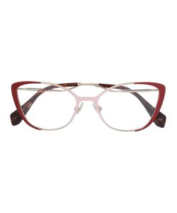 Miu Miu Eyewear | Curved Cat-Eye Glasses Women