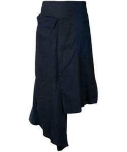 Yohji Yamamoto   Flap Patched Skirt