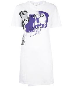 Mcq Alexander Mcqueen | Logo Print T-Shirt Dress Size Medium