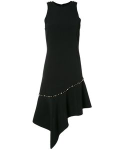 Jonathan Simkhai   Pearl Studded Asymmetric Dress Size 0