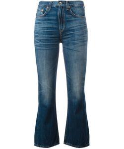 Rag & Bone | Cropped Kick Flare Jeans Size 27