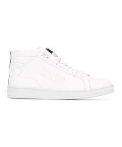 Kenzo | Hi-Top Sneakers 42 Calf Leather/Leather/Rubber