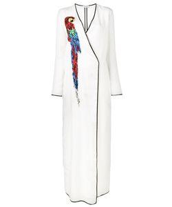 ATTICO   Raquel Parrot Embellished Dress