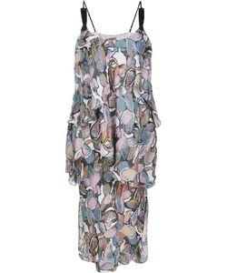 Maiyet | Wave Tier Slip Dress 8 Silk