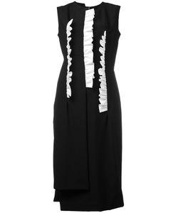Comme Des Garcons | Comme Des Garçons Frill Detail Midi Dress Size Small