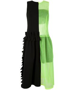 PASKAL | Sheer Neon Detail Dress