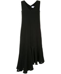 LE CIEL BLEU | Платье С Оборками И Люверсами