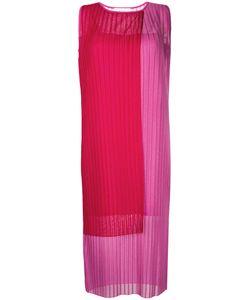 LE CIEL BLEU   Pleated Block Colour Dress Women