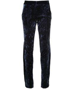 STRATEAS CARLUCCI | Velvet Trousers Women M