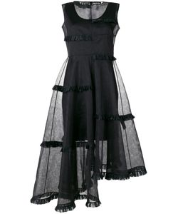 PASKAL | Asymmetric Sheer Layer Dress Size Xs