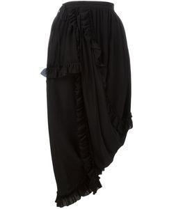 Simone Rocha | Ruffled Trim Skirt 10 Silk