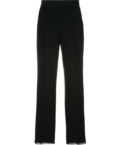 Cinq A Sept   Frayed Hem Cropped Trousers 8