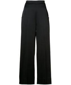 Roland Mouret | Wide-Legged Trousers 40 Viscose/Acetate/Spandex/Elastane/Polyurethane
