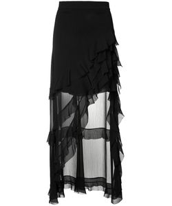 Alice + Olivia | Ruffled Asymmetric Skirt Size 2