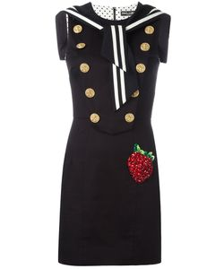 Dolce & Gabbana | Strawberry Patch Sailor Dress 40