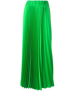 P.A.R.O.S.H. | Long-Length Elasticated Waist Pleated Skirt Medium Polyester