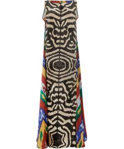 Afroditi Hera | Платье Макси С Принтом Зебра