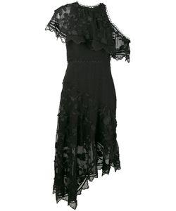 Zimmermann   Декорированное Платье С Открытыми Плечами