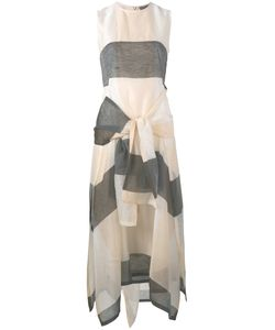 SportMax | Long Tie Detail Dress Size 34