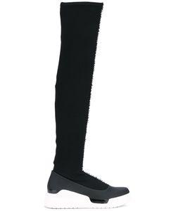 Donna Karan | Кроссовки С Высоким Вязаным Голенищем